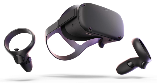 Oculus Quest All-in-one VR Gaming and 360 Video Headset – 12