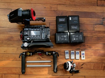 Rent: Sony PMW-F5 w/ 4k upgrade shooting package