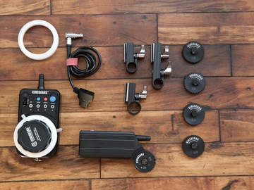 Rent: CINEGEARS Single Axis Wireless Follow Focus kit