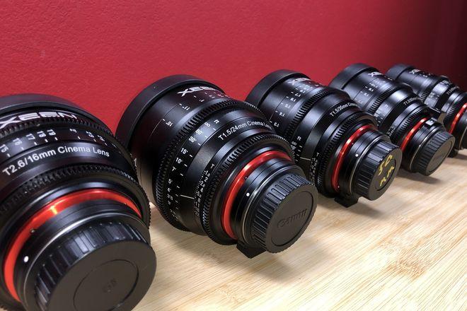 Xeen EF Cinema 5  Lens Kit