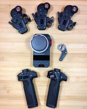 Tilta Nucleus-M 3 Motor Follow Focus Kit W/ RED Start/Stop