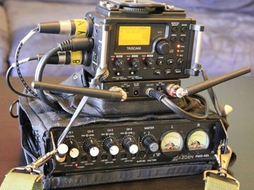 Rent: Complete Field Sound Recording Kit