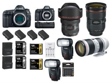 Rent: Canon 5D Mark IV 6D II 11-24mm 24-70mm ii 70-200 iii flash