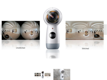 Rent: Samsung Gear 360 4K Spherical VR Camera