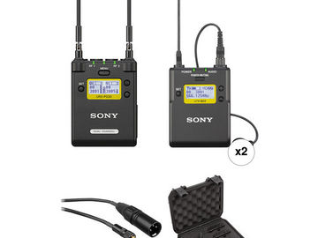 Sony Wireless Lavs - UTX-BO3/URX-P03