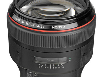 Rent: 85mm 1.2 brand new