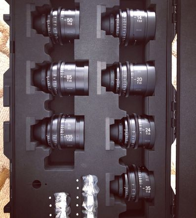 Sigma Cine FF High Speed Primes