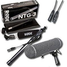 Field Recording Kit - Mixpre 3 w/ Rode NTG3