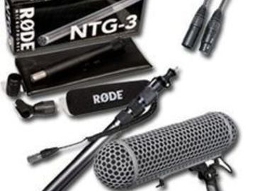 Rent: Field Recording Kit - Zoom H5 w/ Rode NTG3