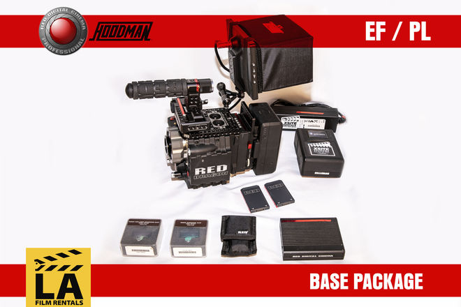 RED Epic Dragon 6k - Base EF or PL Camera Rental Package