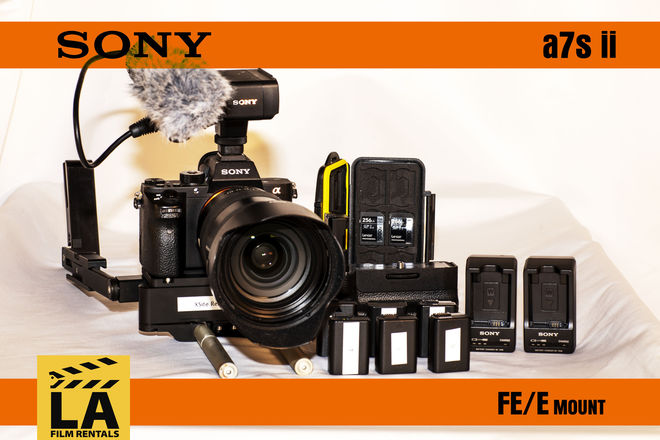 Sony a7sii Package w/ Sony Lens