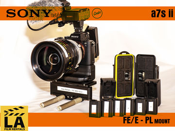 Sony Alpha a7S II Package with Metabones PL and Cooke Lens