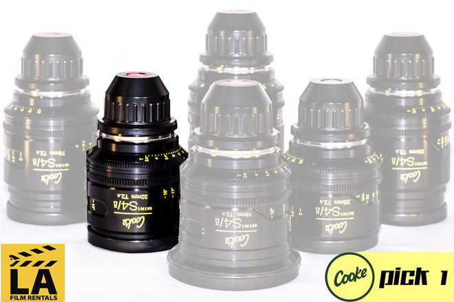 Cooke Mini s4/i Lens (Single Lens Rental)