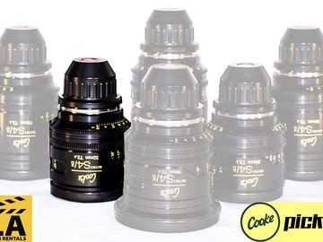 Cooke Mini s4/i Lens (Single Lens Rental)