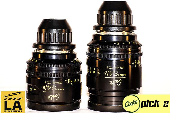 Cooke Mini s4/i Lenses (Set of 2)