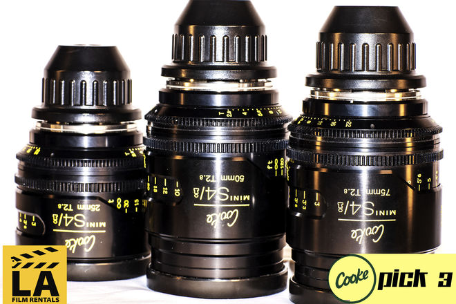Cooke Mini s4/i Lenses (Set of 3)