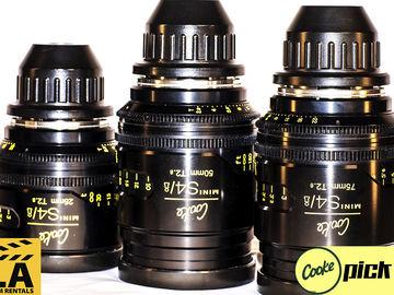 Cooke Mini s4/i Lenses (Set of 3)