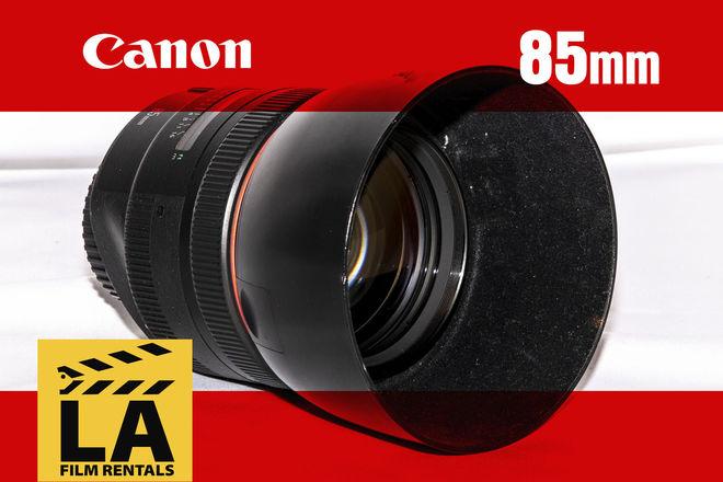 Canon EF 85mm prime f/1.2 L II USM Lens