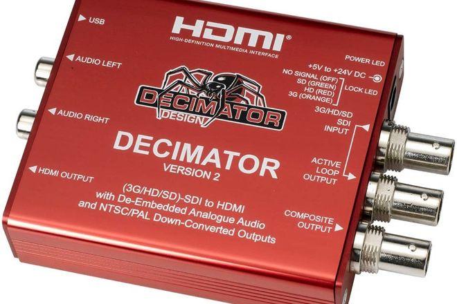 Decimator V2 SDI to HDMI Converter