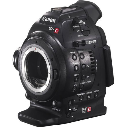 Canon C100 (w/ Batteries, Cards)