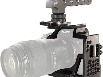 Rent: Sony A7s II Cage & Top Handle