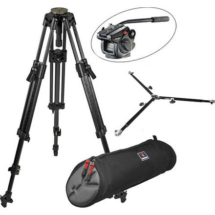 Manfrotto 501HDV Video Head and Tripod