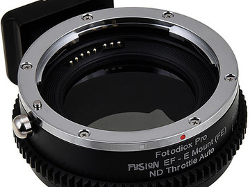 Rent: Canon EF to Sony E-Mount 8.5 Stop Variable ND Adapter