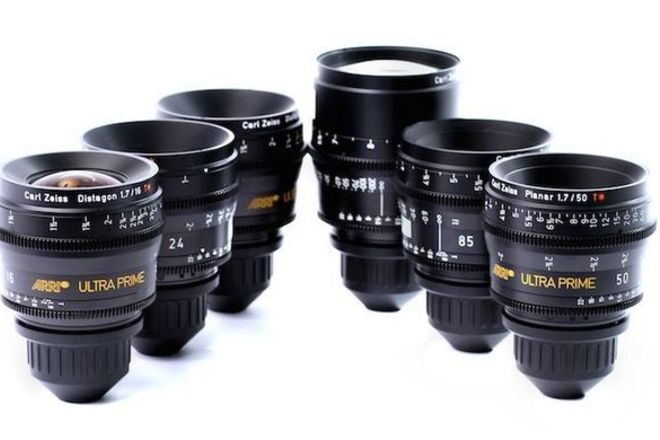 ARRI Ultra Prime Set (24mm, 50mm, 85mm)