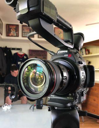 Canon C100ii (Body Only) (Optional Tripod)