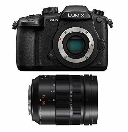 Panasonic Lumix DC-GH5 Digital Camera w/ Leica 12-60mm V-Log