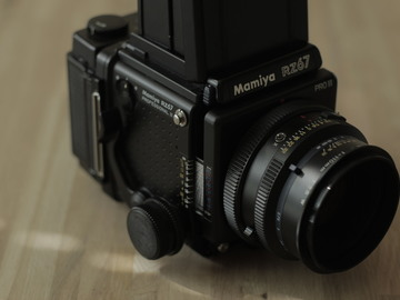 Rent: Mamiya RZ67  Pro II package