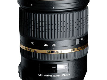 Rent: Tamron 24-70mm f2.8 VC for Canon EF