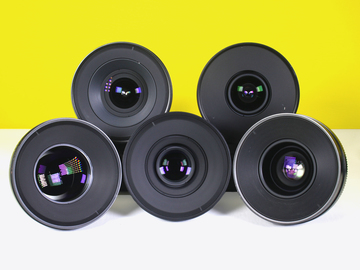 Rent: Zeiss CP2 5 lens Set (15, 25, 35, 50, 85) EF or PL
