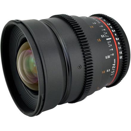Rokinon Cine 24mm T1.4 Canon EF mount