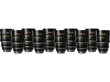 Rent: Leica Summilux-C 10-Lens Set. (18-100mm)