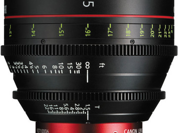 Rent: CN-E Primes Package (35mm, 50mm, 85mm)