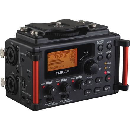 Tascam DR-60DmkII Recorder with Rode Filmmaker Kit