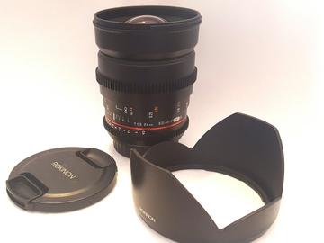 Rent: 24mm T1.5 CINE DS