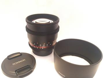 Rent: 85mm T1.5 Cine DS Lens