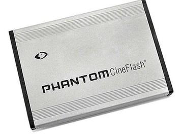 Rent: Phantom CineFlash Cards ( 2 x 120GB ) + CineFlash Reader