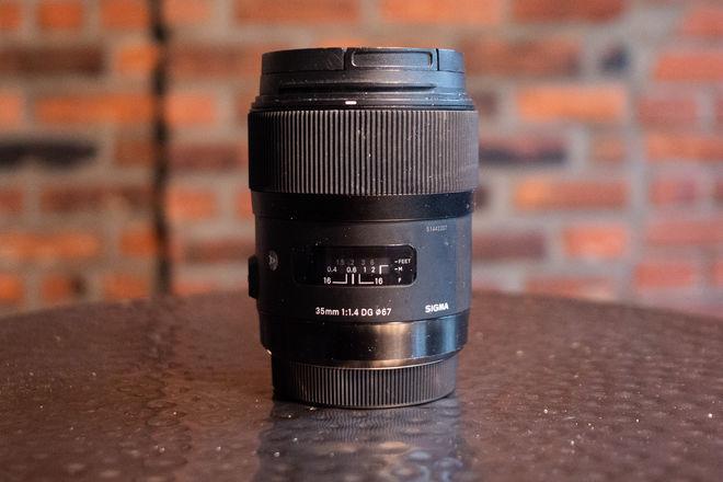 Sigma 35mm f/1.4 DG HSM Art Lens