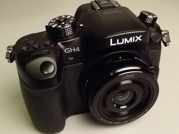 Rent: Panasonic Lumix DMC-GH4 Mirrorless True 4K Camera Body
