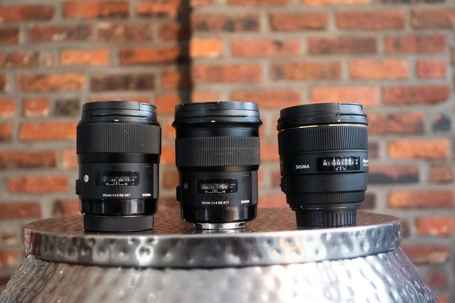 Sigma Prime Lens Package (35mm, 50mm, 85mm)