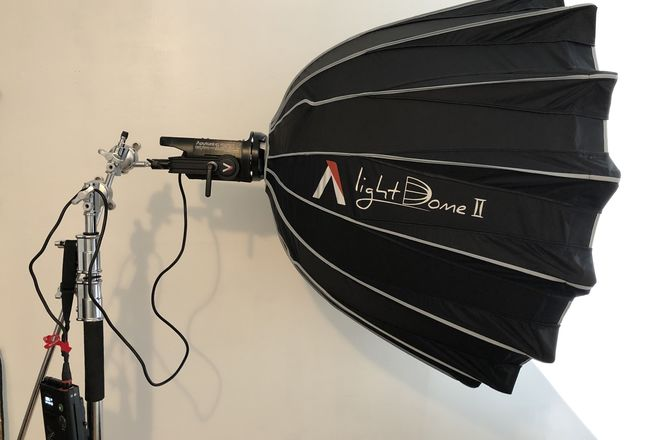 Aputure LS C120D II + C-stand+Vmount Battery 190Wh,13400 mAh