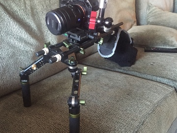 Lanparte Shoulder Rig w/A7s base cage and Zacuto Z-Arm