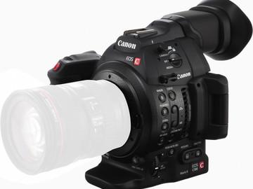 Rent: Canon C100 Mark II w/ Manfrotto 504HD