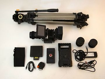 RED Epic-MX, Canon Zoom Lens, Tripod, 2X 240GB SSD 2X Bricks