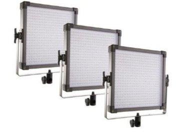 (3) 1x1 LED Light Panels (day light)
