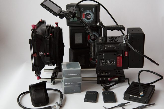 RED Epic-W Helium full package (8k)