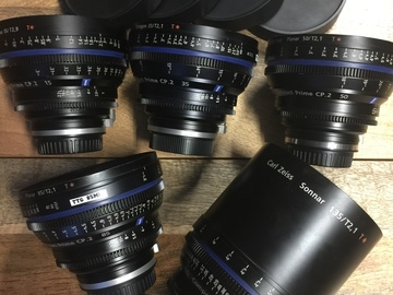 Rent: ZEISS EF MOUNT CP2 5 LENS KIT
